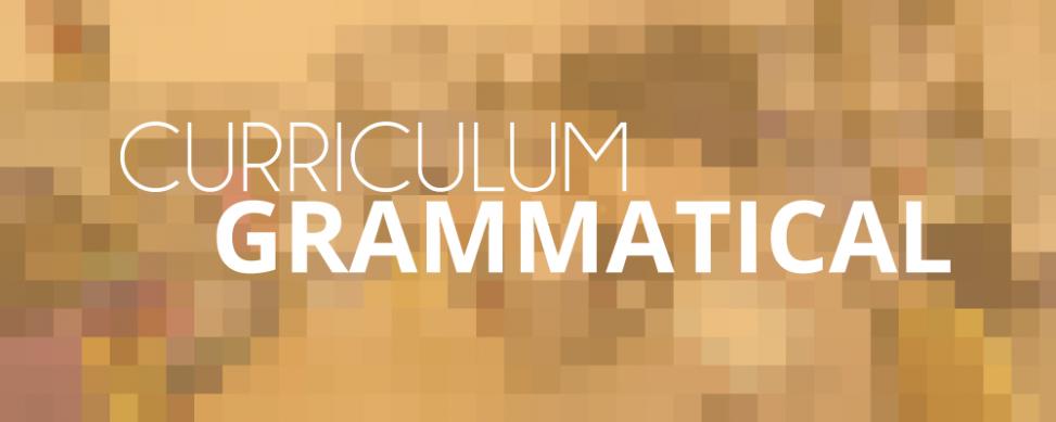 curriculum grammatical